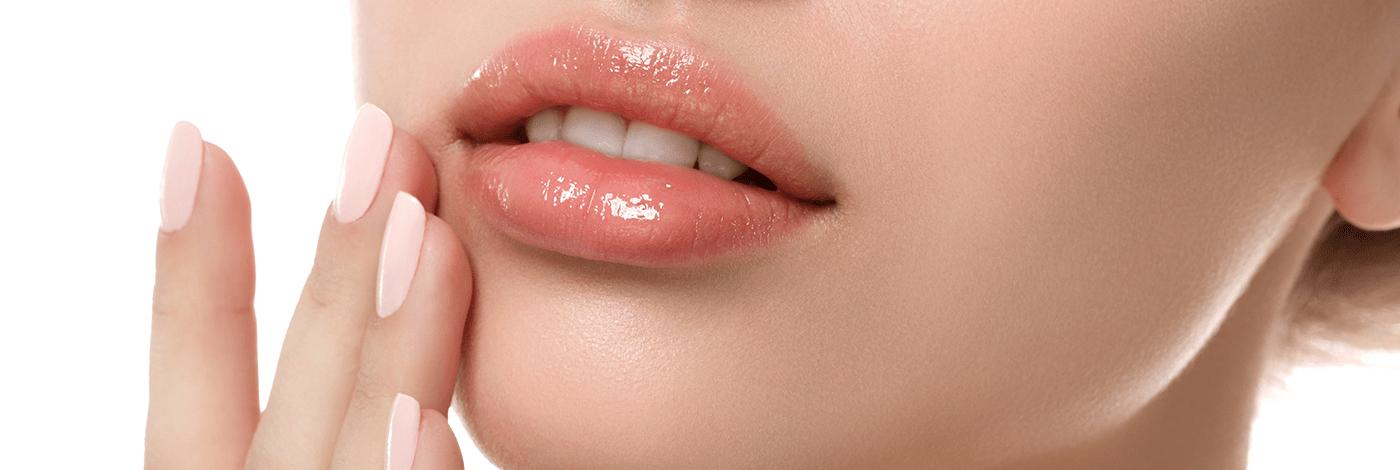 Preenchimento labial na harmonização facial